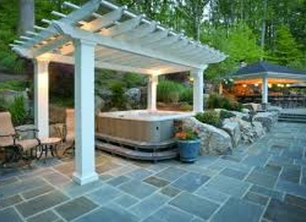 Luxury Pergolas Over Pool