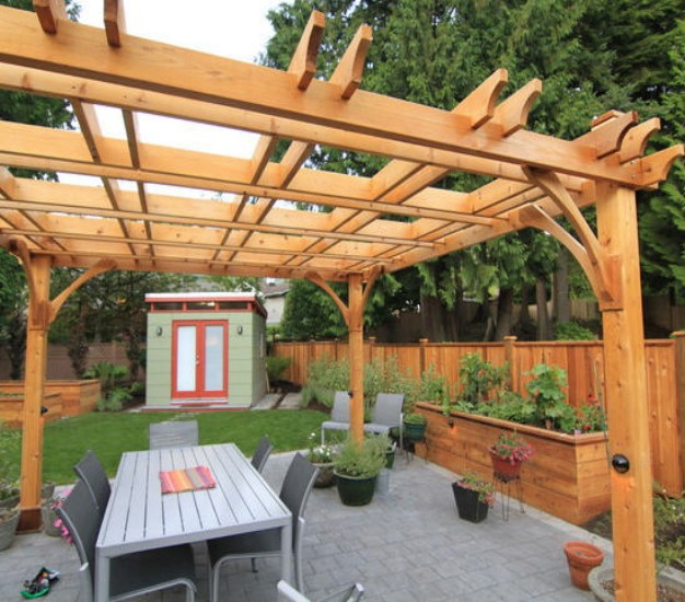 Outstanding Contemporary Pergola Kits 626 x 550 · 124 kB · jpeg
