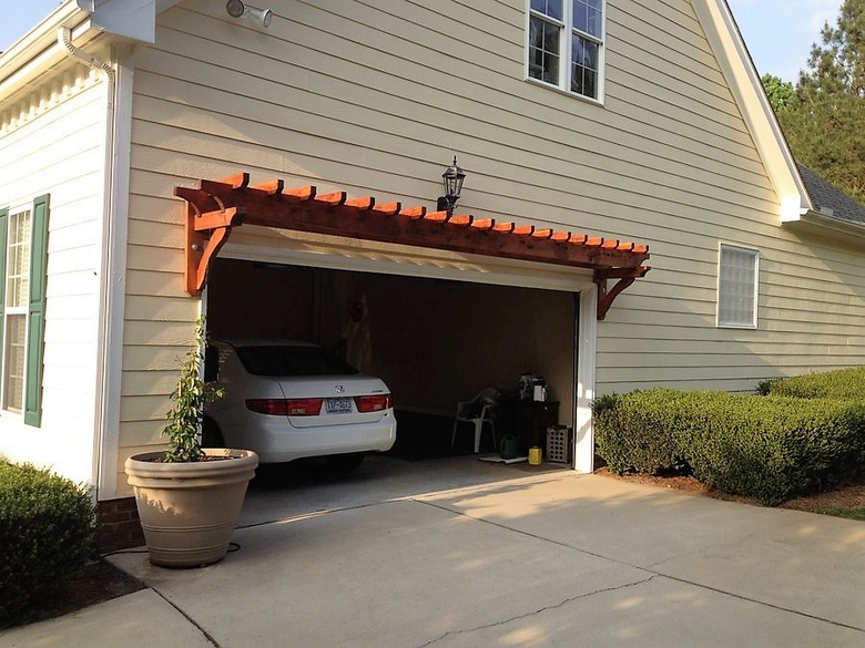 Pergola Over Garage Door : Pergola over garage an excellent option gazebos
