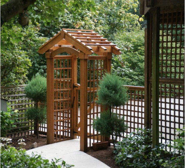 Garden arbors plans pergolas gazebo for Plans for arbors