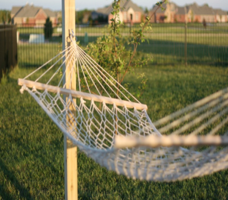 How To Make a Hammock Arbor – DIY Project