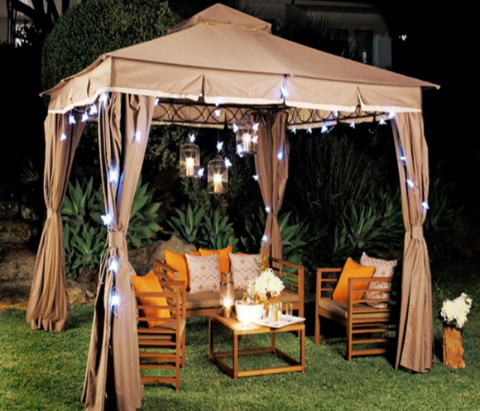 Modern patio gazebo furniture ideas pergola gazebos for Outdoor furniture gazebo