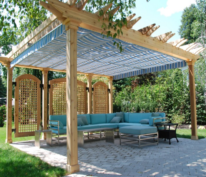 Know about fantastic pergola covers of your house pergola gazebos - Pergola climbing plants under natures roof ...