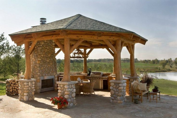 Impressive Gazebo An Option to Decorate House