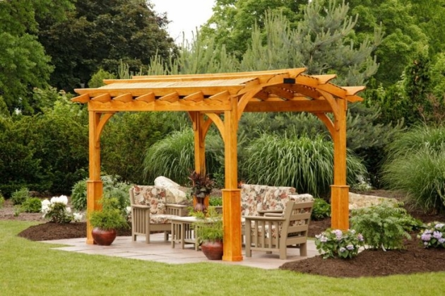 Garden Pergola Designs To Meet Your Needs
