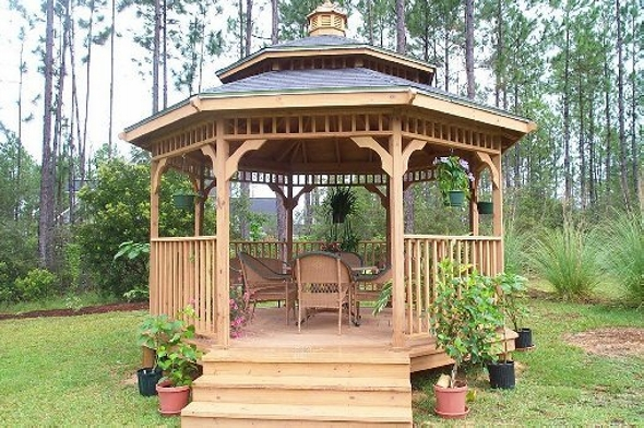 Gazebo Deck An Masterpiece of Architecture