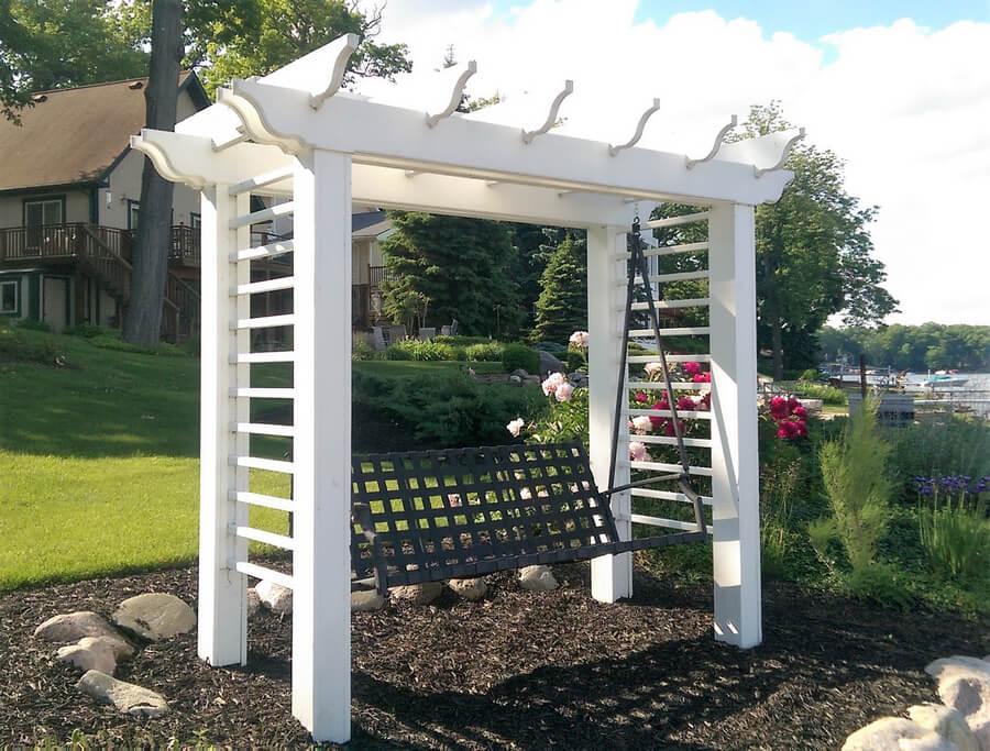 Garden Swing Pergola Plan