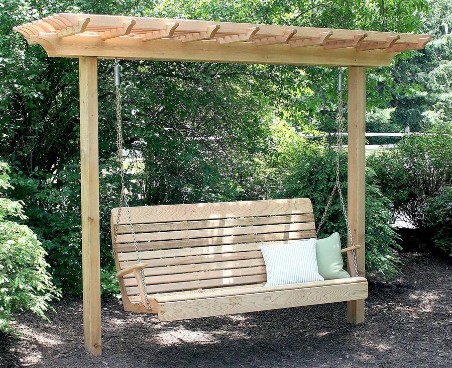Garden Swing Pergola