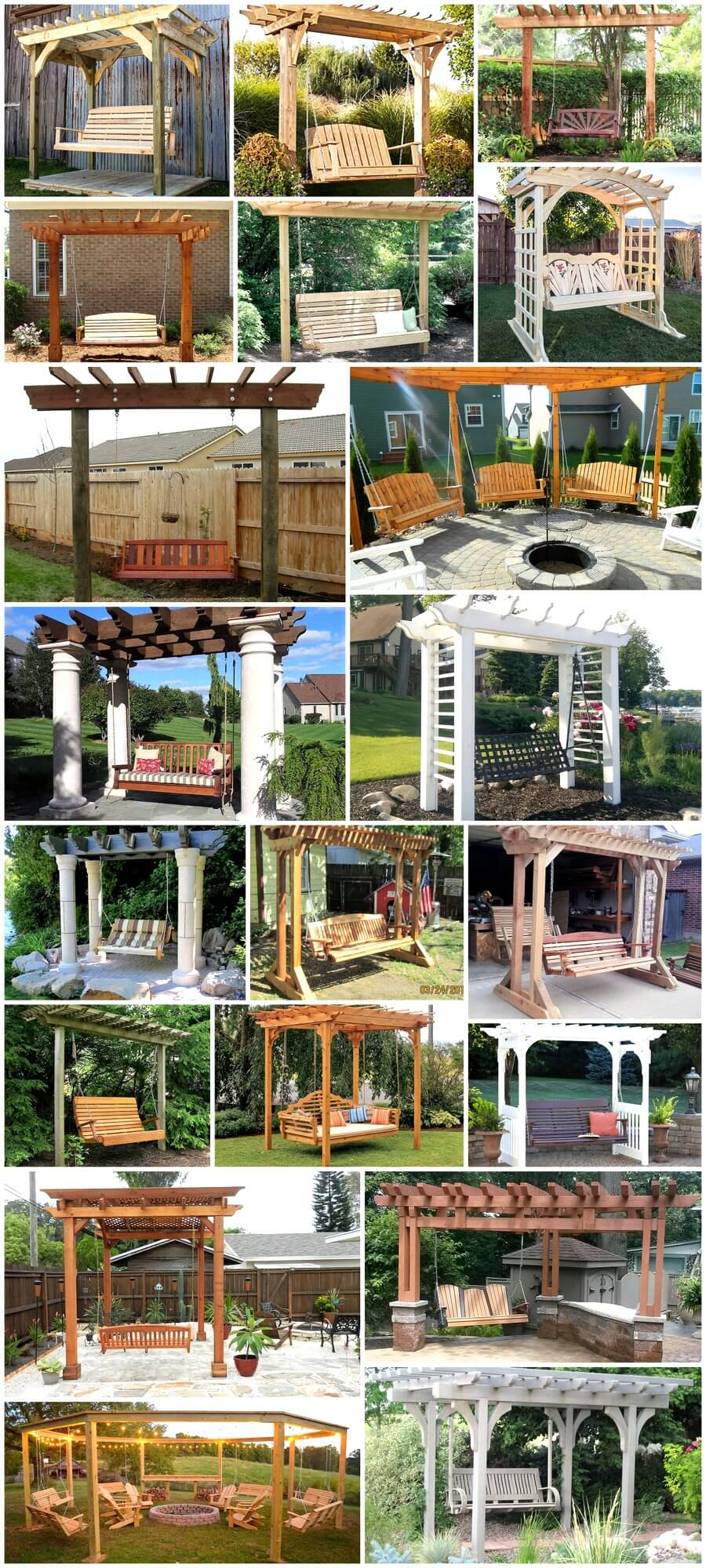 Have Your Ever Thought of Adding Swing to Your Pergola