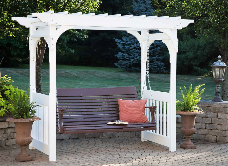 Patio Swing Pergola