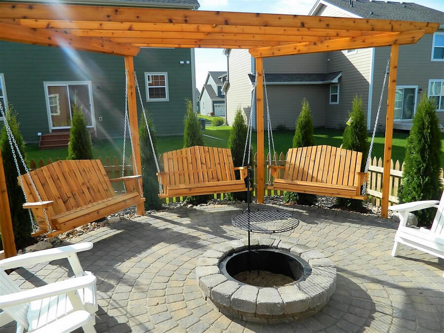 Swing Pergola Ideas 2