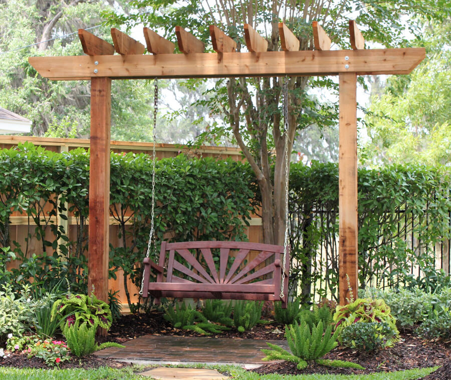 Swing Pergola for Fun