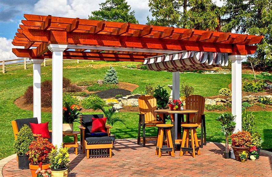 garden pergola project