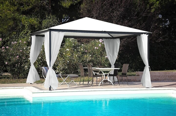 swimming pool gazebo ideas 10