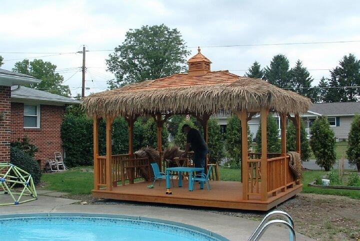 Swimming Pool Gazebo Ideas 11