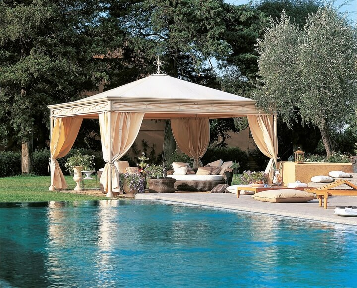 Beautiful Gazebo Designs for Your Swimming Pool | Pergola Gazebos