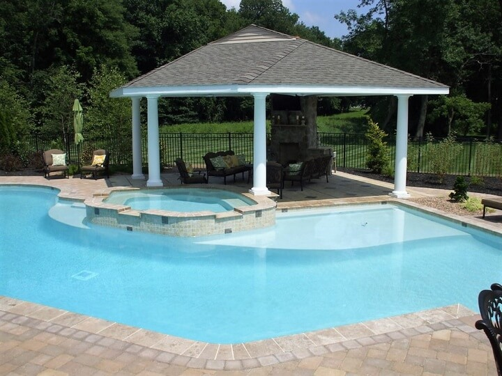 beautiful gazebo designs for your swimming pool pergola
