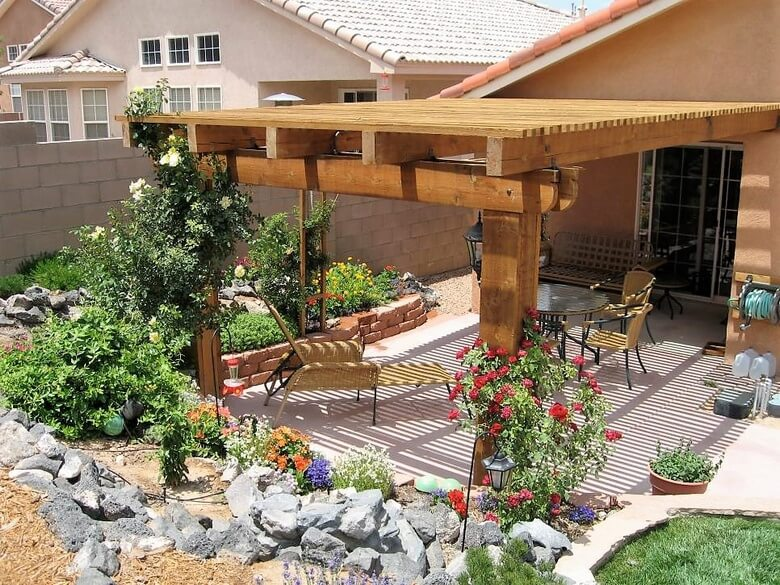 yard pergola ideas