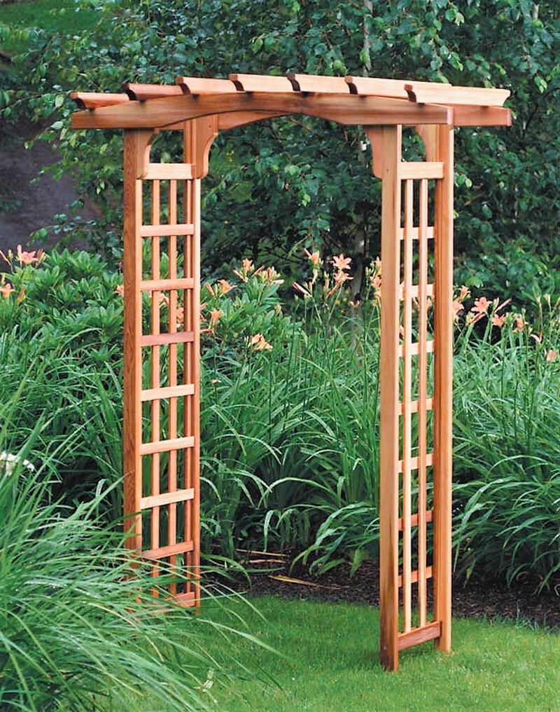 Arbor design plans best way to use pergola gazebos for Garden arbor designs