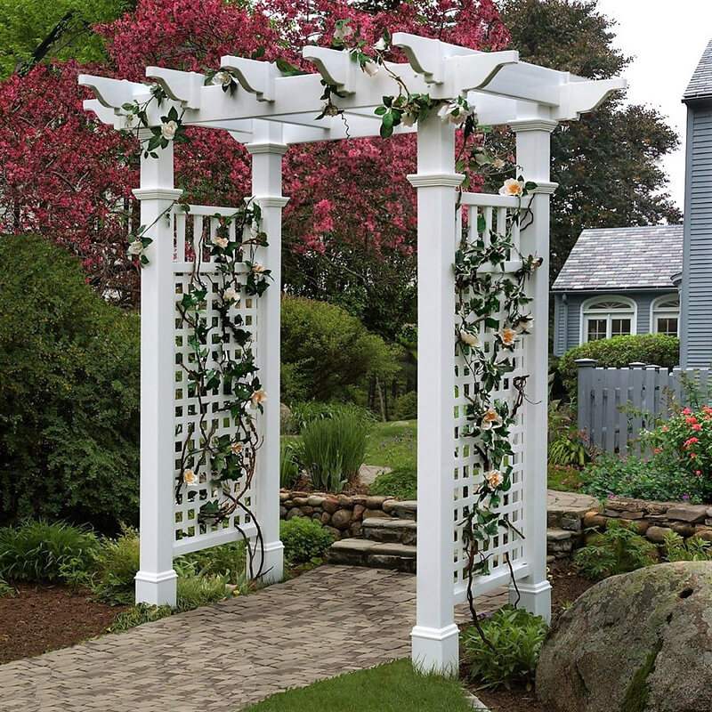 Fairfield Arbor with Trim