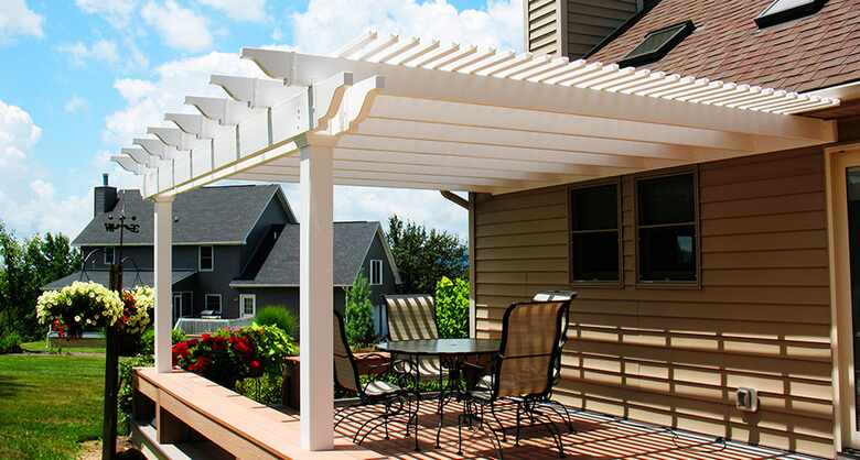 Attached Pergola Ideas 10