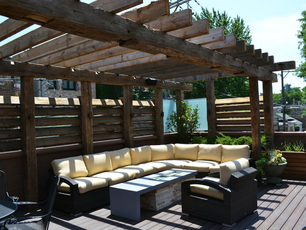 pergola furniture ideas 11