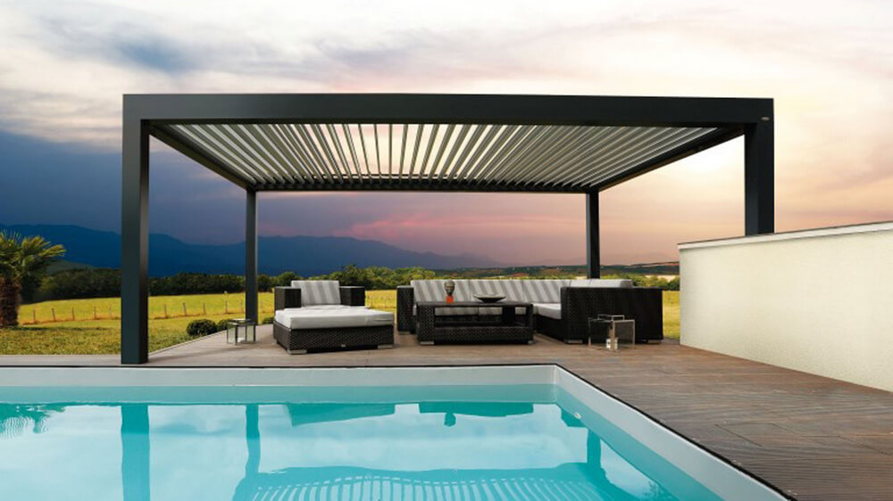 pergola furniture ideas 16
