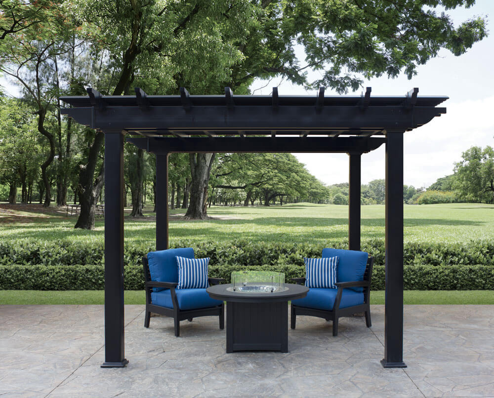 Wonderful Pergola Furniture Ideas To Go For Gazebos