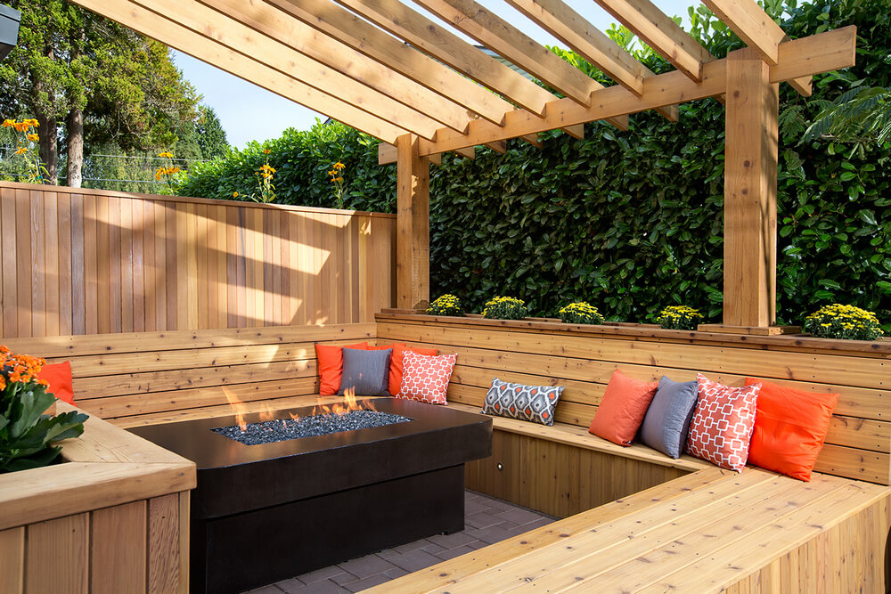 pergola furniture ideas 19