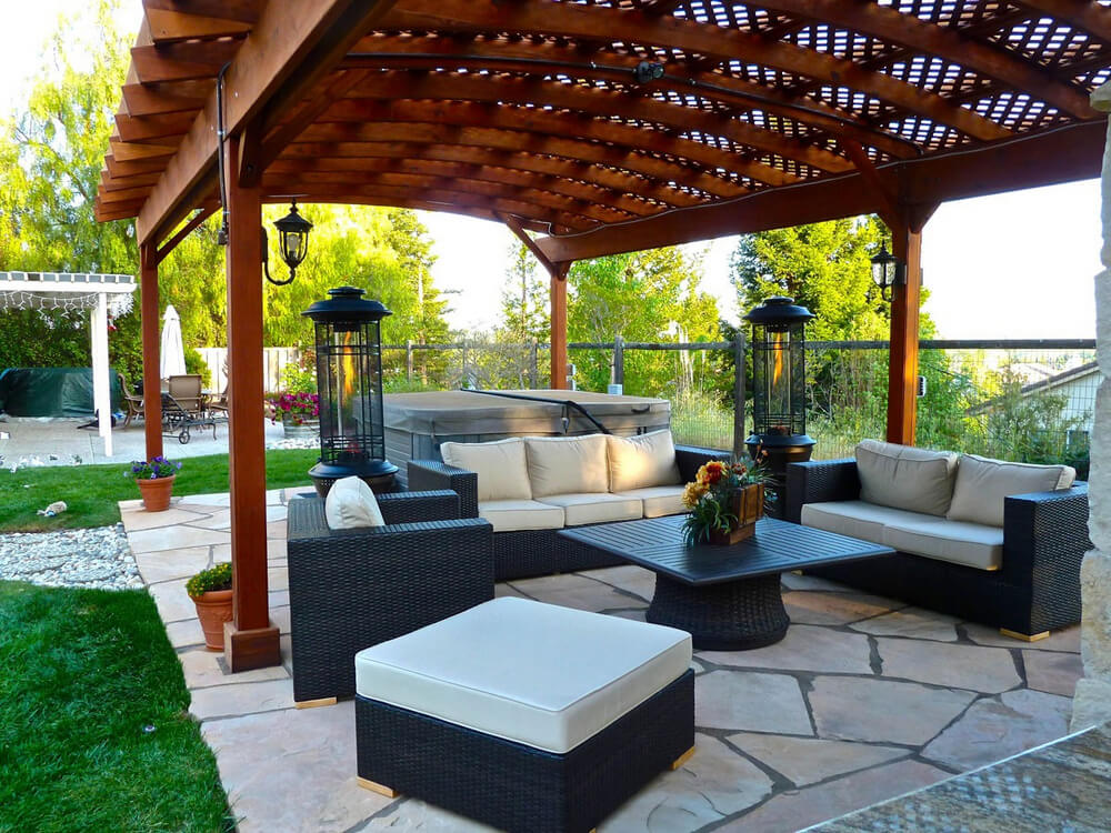 pergola furniture ideas 4
