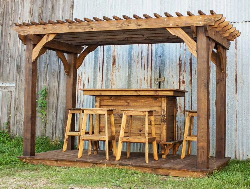 pergola furniture ideas 5