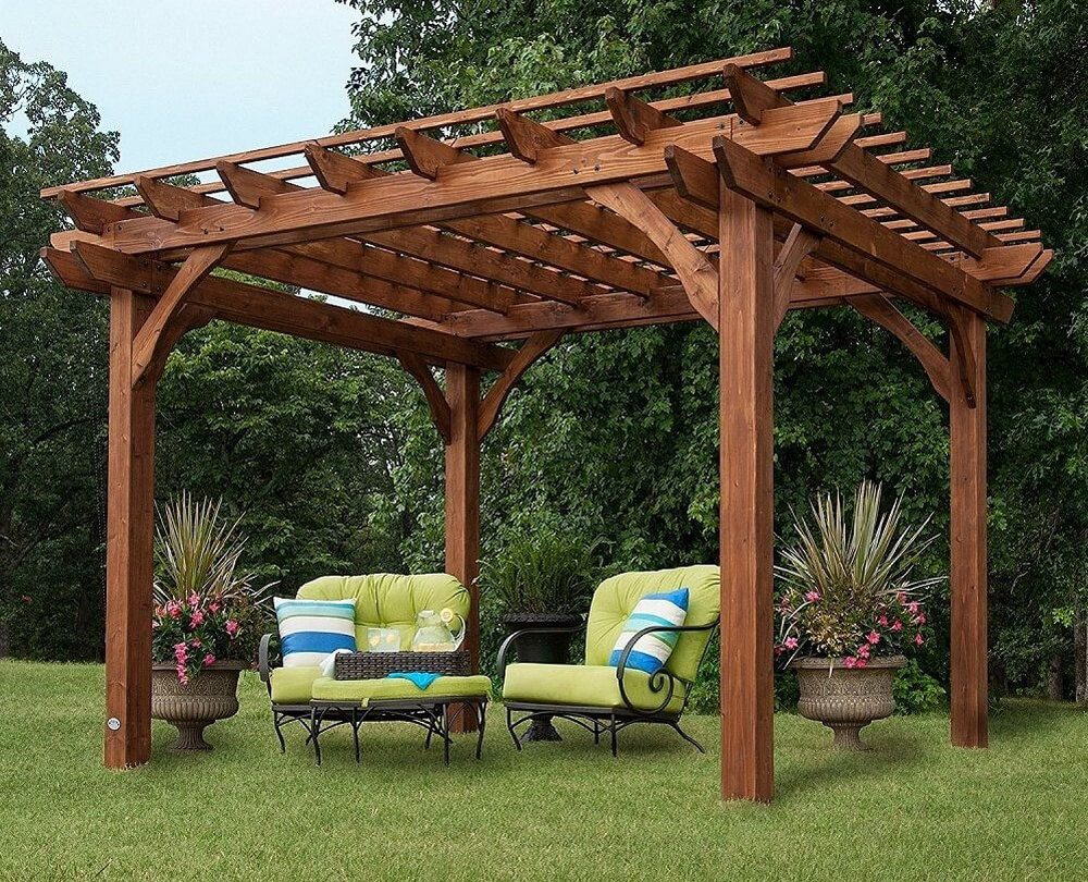 pergola furniture ideas 8