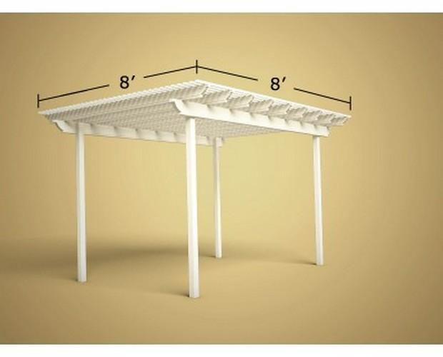 8x8 Pergola Designs 4