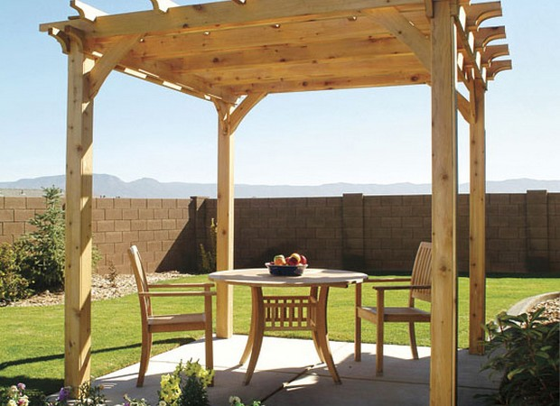 Garden Pergola Plannings