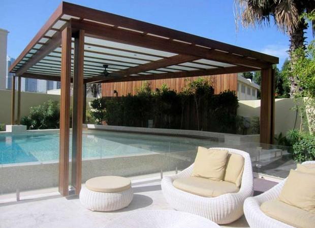 Luxury Pergolas Over Pool 1