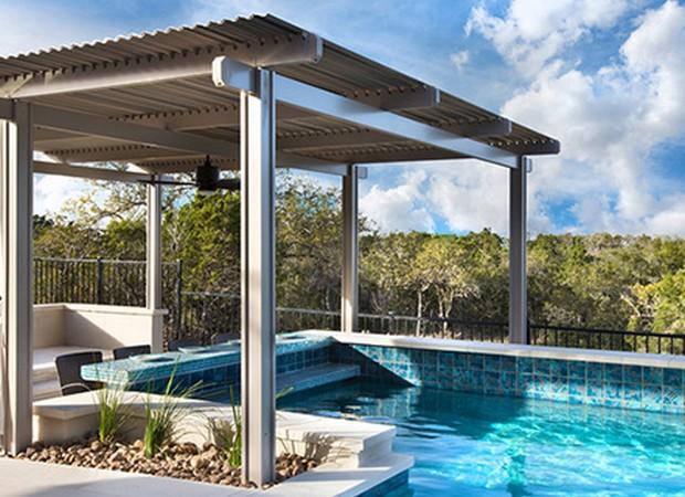 Luxury Pergolas Over Pool 2