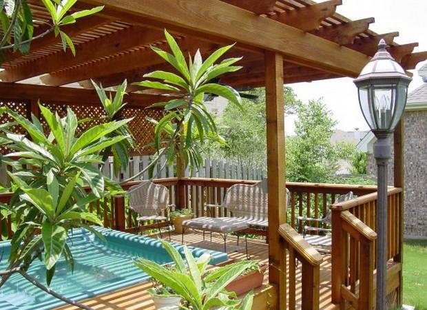Luxury Pergolas Over Pool 4