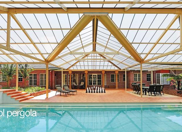 Luxury Pergolas Over Pool 5