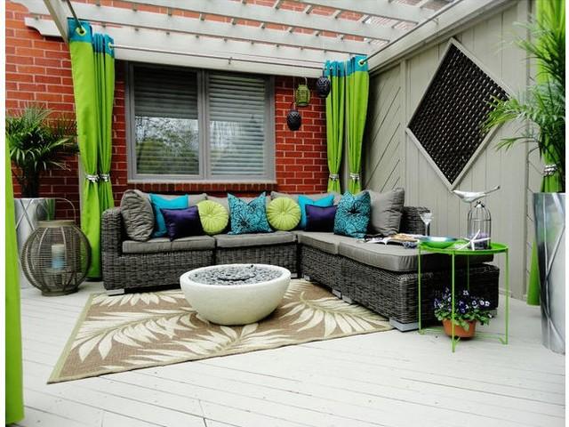 Pergola Curtains Designs