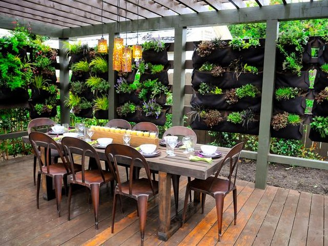 Pergola Flooring Ideas