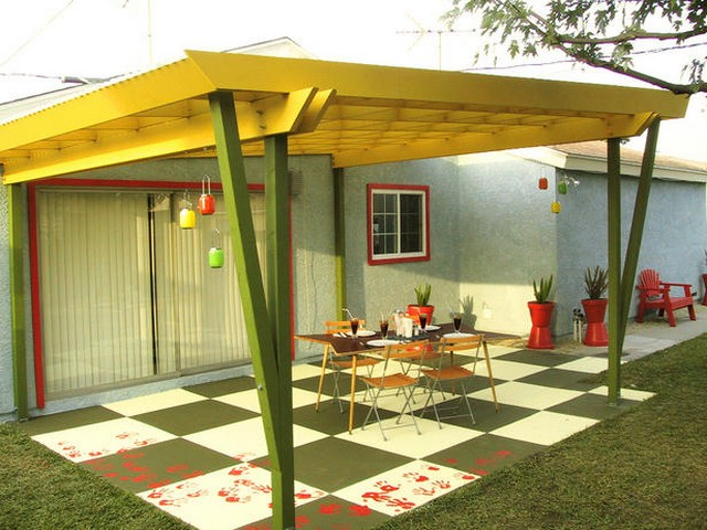 Pergola Flooring Ideas 4