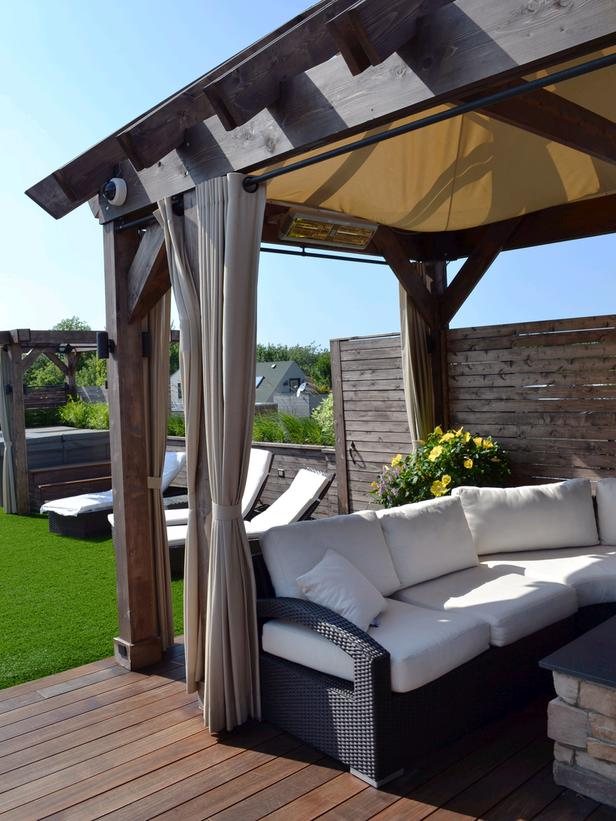 Pergola Flooring Ideas 5