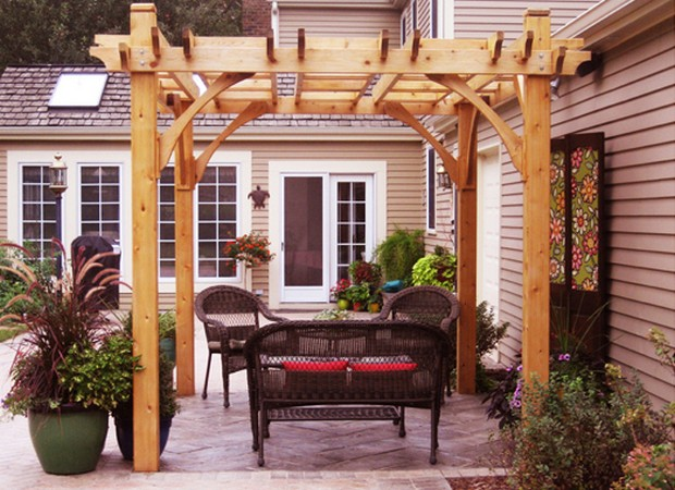 Fantastic Pergola Furniture Ideas