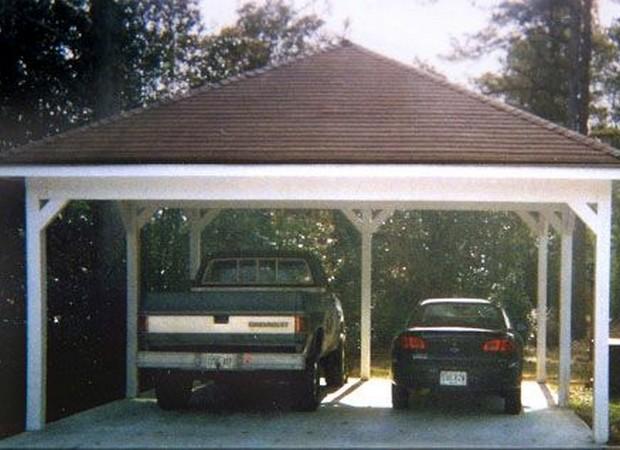 Pergola Garage Ideas 7