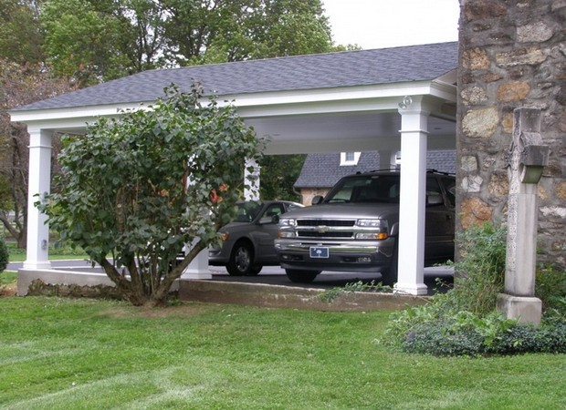 Decent Pergola Garage Ideas