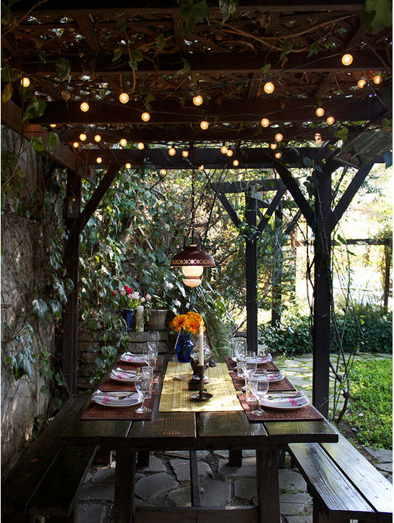 Pergola Lighting Effects 2