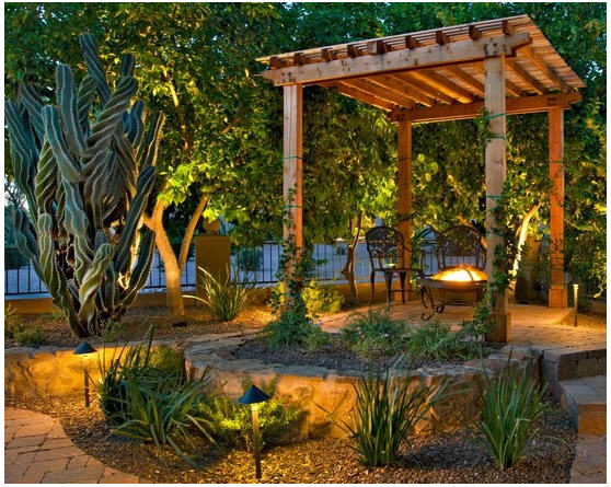 Pergola Lighting Effects 4