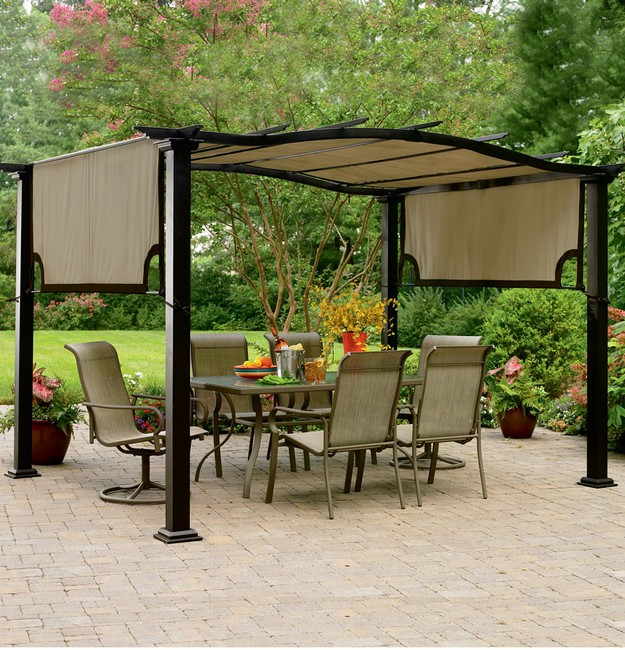 9×9 Pergolas and Gazebos Designs