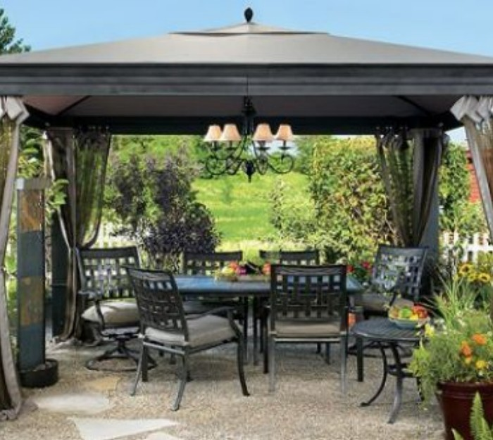 Aluminum And Metal Patio Pergola Gazebos