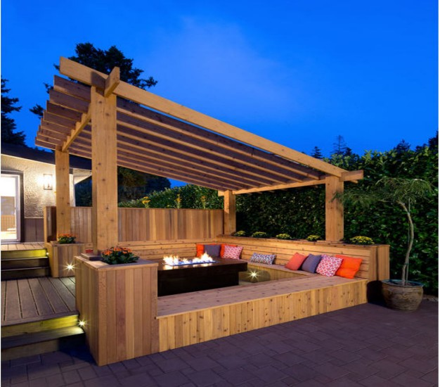 Deck With Pergola Ideas on pergola designs attached to house